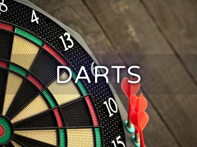 Darts board