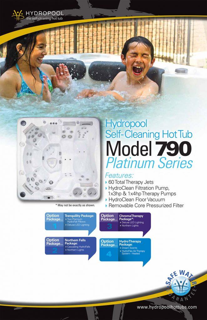 Hydropool Self cleaning hot Tub