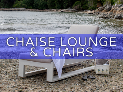 Chaise Lounge & Chairs