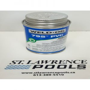 1/4 PT 795 Clear Fast Set Cement IPS-60-590
