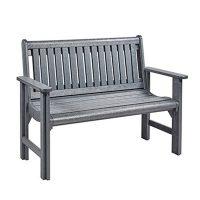 Garden Bench Grey