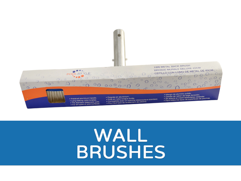 Pool Wall Brushes