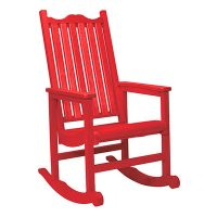 Porch Rocher red