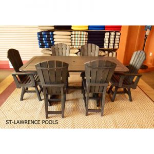Addy Dining Set, Includes T11 table, C12, C16