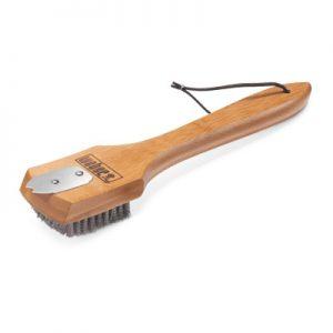 Weber 12 Inch Bamboo Grill Brush