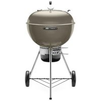Weber Master-Touch Charcoal Grill Smoke