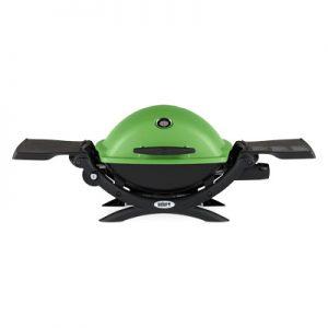 Weber Q 1200 Gas Grill LP (Green)