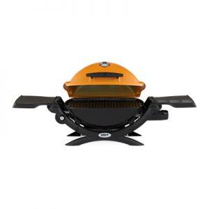 Weber Q 1200 Gas Grill LP Orange