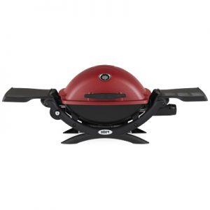 Weber Q 1200 Gas Grill LP (Red)