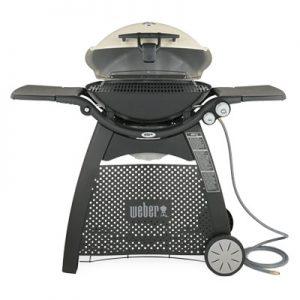 Weber Q 3200 Gas Grill NG Titanium