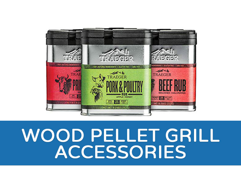 Wood Pellet Grill and Accessories