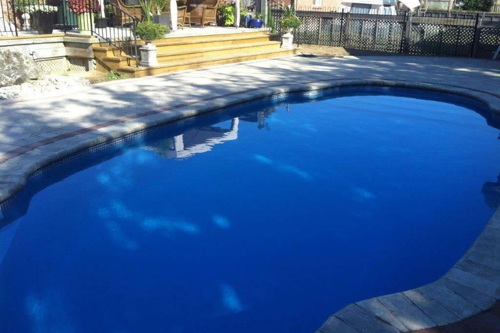 Fibreglass In-ground pool