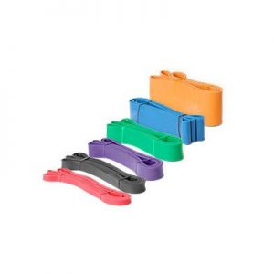 """Element Fitness Strength Band 0.5"""" - XX Light - Red"""