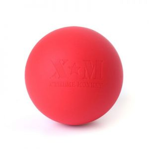 Lacrosse Massage Ball - red