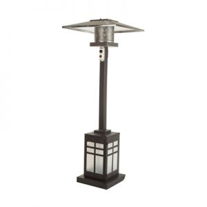 Paramount Illuminated Mission Patio Heater from St. Lawrence Pools