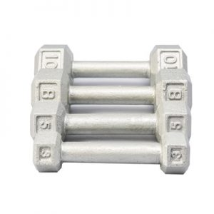 York Cast Iron Hex Dumbbell 2lb